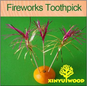 Fireworks Toothpick