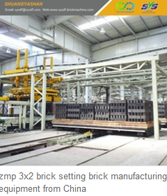 zmp 3x2 brick setting brick manufacturing equipment from China