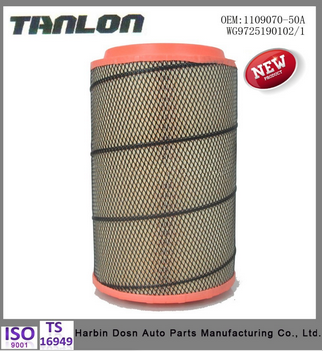 HEPA Auto air filters factory puk2841-2 for heavy truck