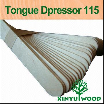 Direct Manufacturer Xy-td115 Tongue Depressor 115mm Wooden Tongue-spatula