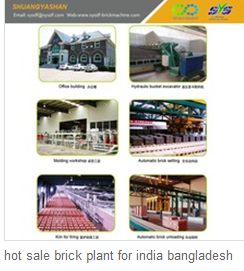 hot sale brick plant for india bangladesh