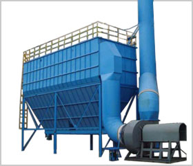 Pulse dust collector- mining machinery and spare parts