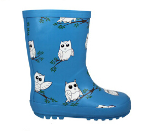Nice Kids Natural Rain Rubber Boots