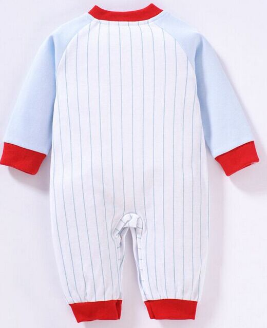 100% cotton interlock baby long sleeve comfortable romper