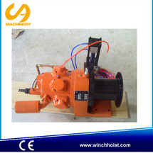 2 ton air winch air tugger pneumatic winch hand brake and disk brake for coal mine