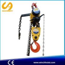 chemical industry double chain 6 ton air chain hoist