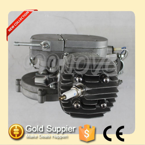 new products gasoline powered 2 stroke bicycle engine CNV80CC motor engine