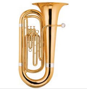 Bb Key 3 Pistons Tuba