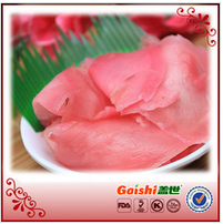 2015 FRESH SUSHI FOOD JAPANESE GINGER WITH SUSHI