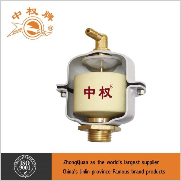 water medium auto air release valve 1/2 connector with PU float