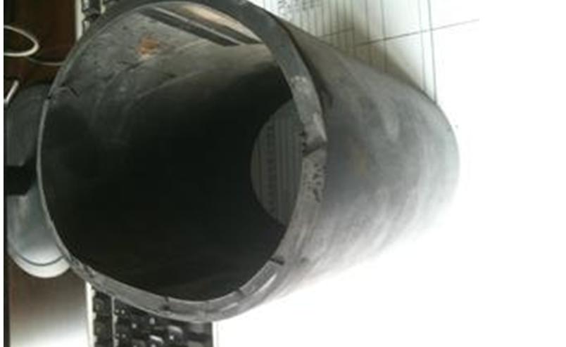sand discharging rubber hose