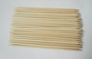 Natural Birch Wood Double Pointed Sticks