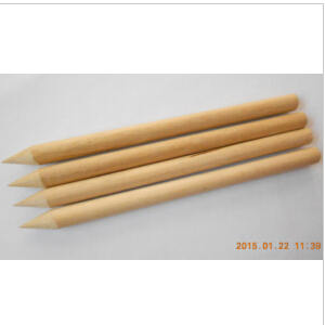 Natural Wood Pencil-Shaped Skewers, Sticks, Dowels