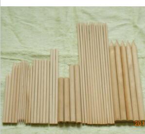 Wooden Round Sticks