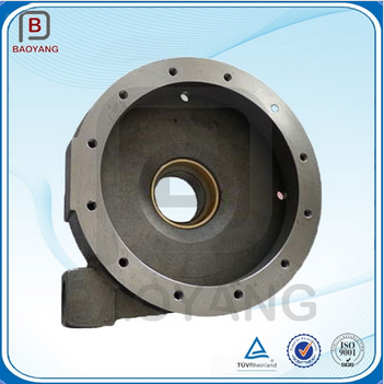 customed casting iron part for CNC machine