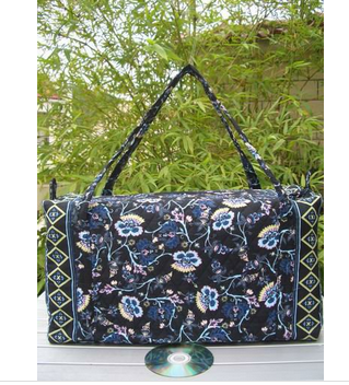 See larger image Cotton quilted 100% Duffel Bag