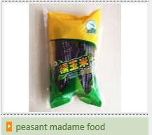 peasant madame food