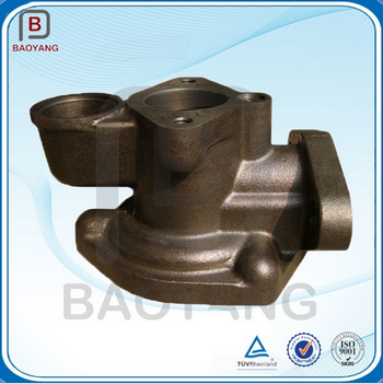 Sand casting iron Part With CNC Machining