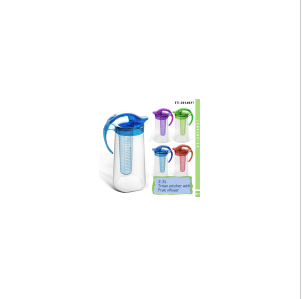 2.3L Tritan Pitcher with Fruit Infuser