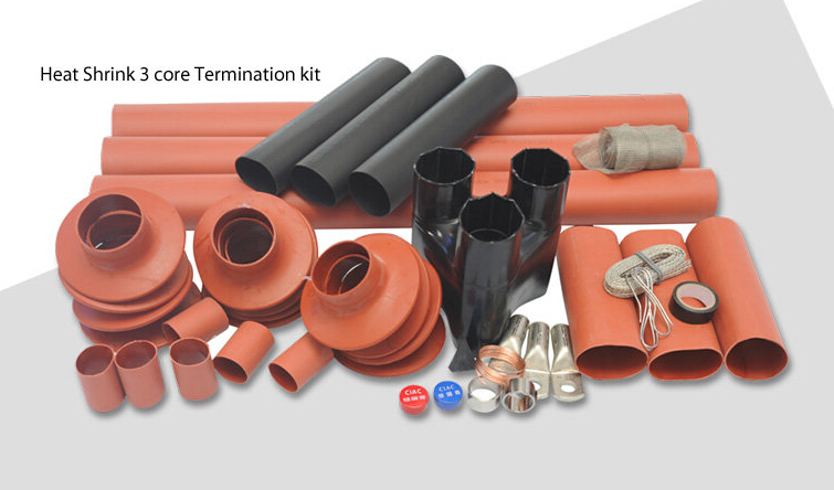 35KV Heat Shrinkable XLPE Cable Outdoor Termination Kits