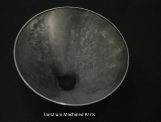 hot sale Tantalum machined part