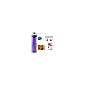 K120 750ml Tritan Water Bottle with Fruit Tube