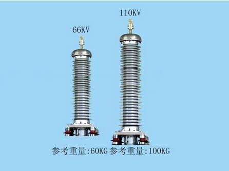 66-110 KV XLPE Power Cable Pre-molded Composite Bushing Outdoor Termination
