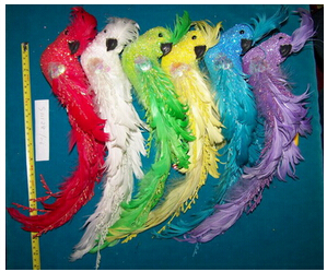 Artificial Feather Parrot
