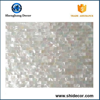 Natural fresh water Shell Mosaic Tile China price