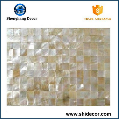 Pure White Pearl Shell Mosaic