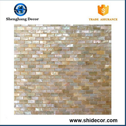 Pure White Pearl Shell Mosaic