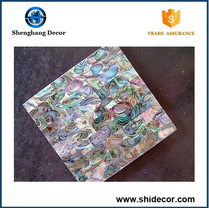High quality abalone shell mosaic