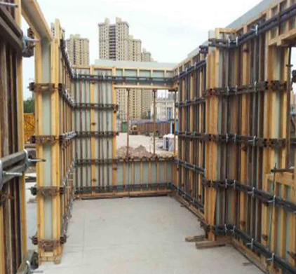 WPC PVC Construction Formwork Board
