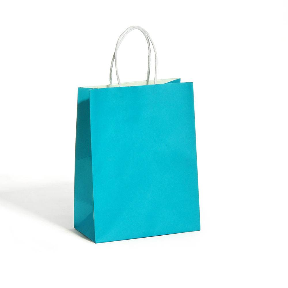 popular coloful kraft paper packing bags