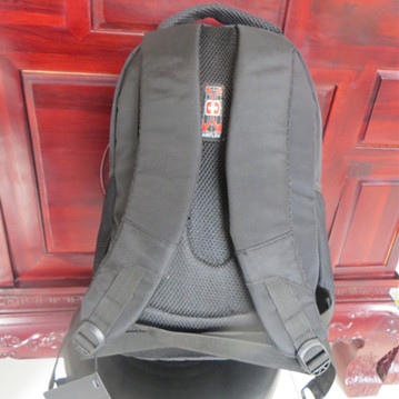 Plain black Classic design Knapsack Backpack Sports bag for Gym