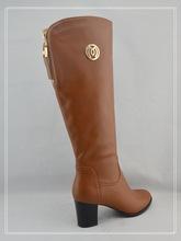 2015 new design china woman pu boot