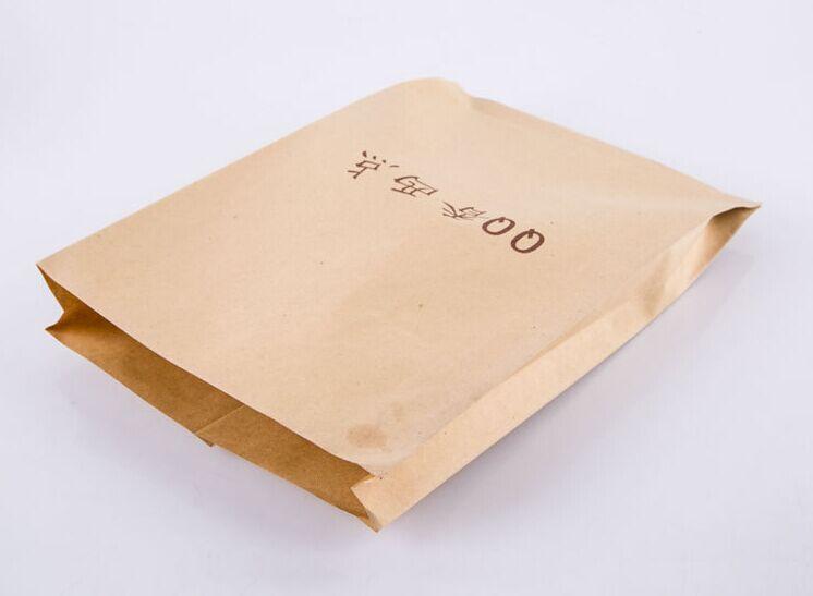 square bottom kraft paper bags with retailer price