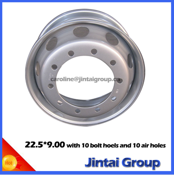 Steel wheel for Truck 22.5x9.00 truck wheel Stahl wheel