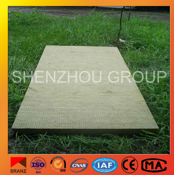 constructional wall decorative thermal insulation rock wool fiber board