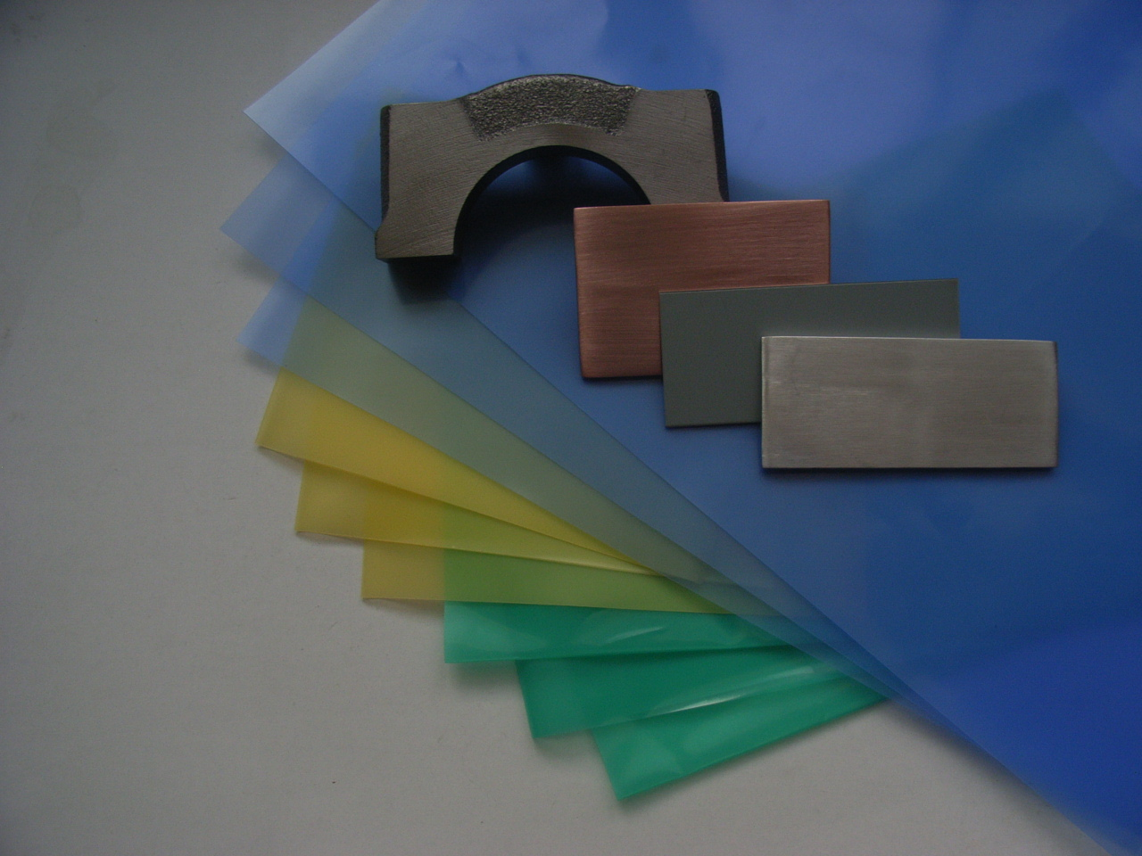 VCI Plastic film for ferrous and non-ferrous metal protection