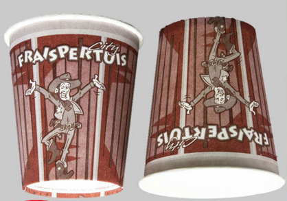 8oz coffee paper cup designs for hot paper cup