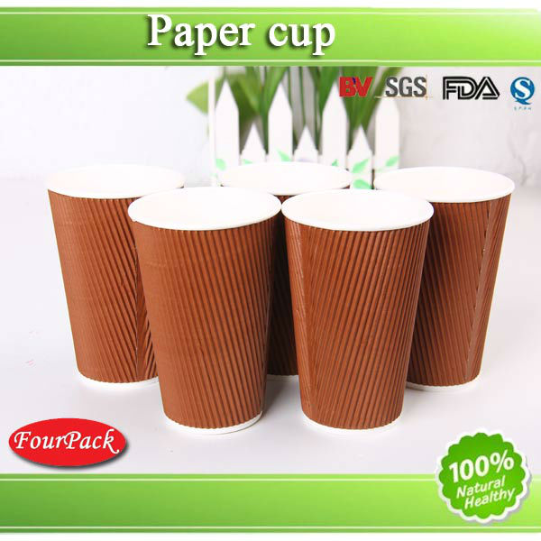 Hot drink ripple paper cups for ripple paper cups