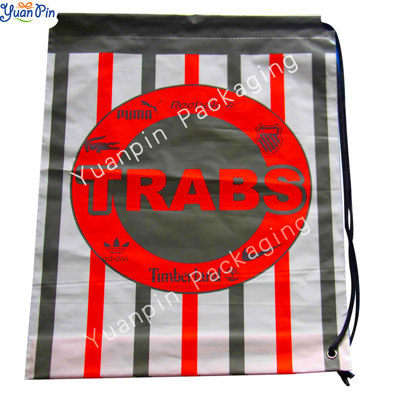 Duffle Shopping LDPE Plastic Bags For Brands