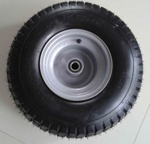 top quality tubeless rubber wheel