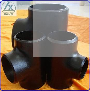 ASME B 16.9 8 inch carbon steel pipe tee