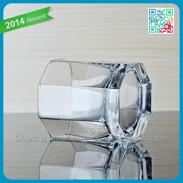 Short Drinking Wine Glass Machine Blown Red Wine Glass Clear Crystal Wine Glass