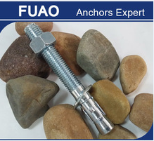 Plain,YZP,WZP wedge anchor,anchor bolt,bolt and nut made in China