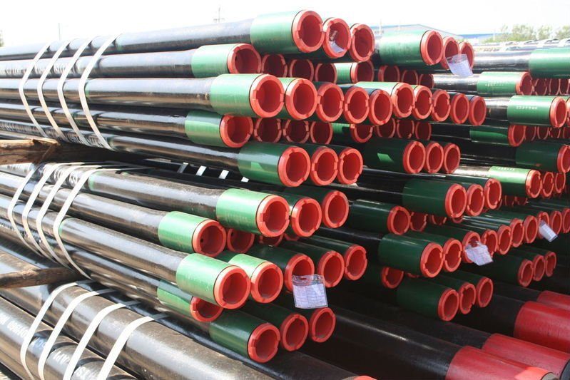 API 5CT Standard K55 seamless oil casing underground pipe