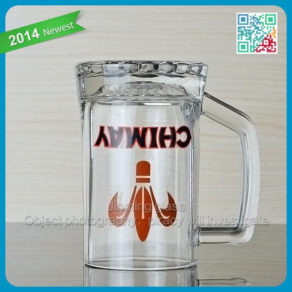 Fashional stanley cup freezer beer mug with handle