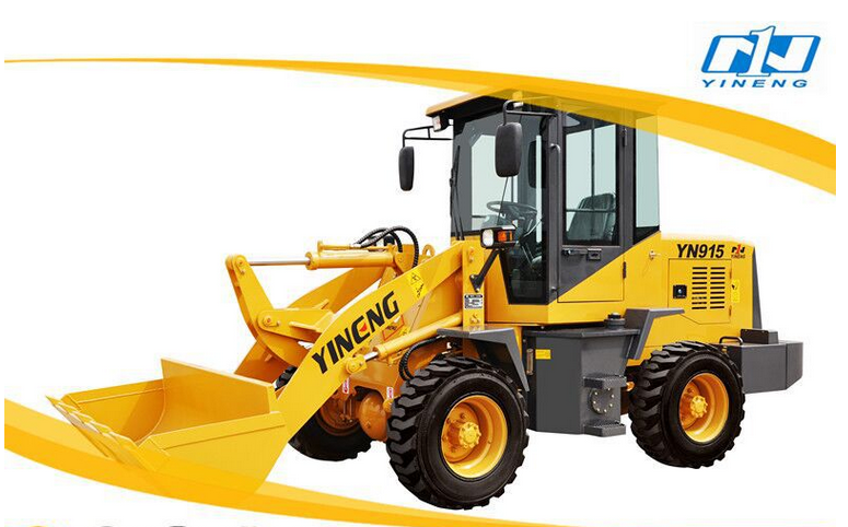 ZL15loader Yineng loader CE provided YN915 1 ton front wheel loader for sale adopt Xinchai engine